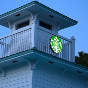 Starbucks at Postcard Inn